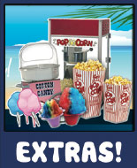 Cotton Candy, Shave Ice, Popcorn Party Rentals Oahu Hawaii
