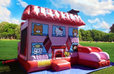 hello kitty bouncer rental oahu