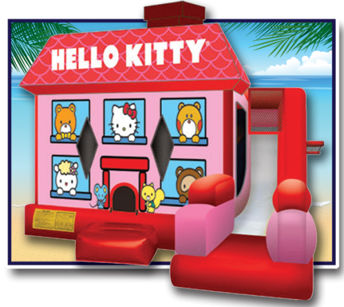 Hello Kitty Bounce House Oahu Hawaii