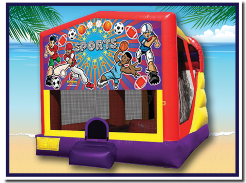 Sports Bounce House Rental Hawaii