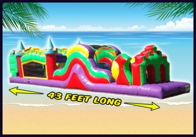 Inflatable Obstacle Course Oahu